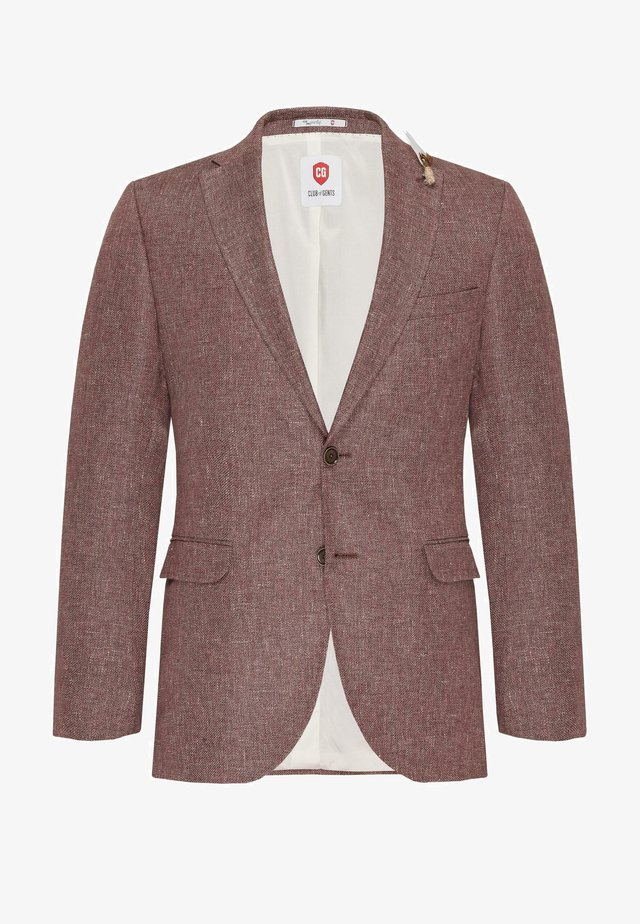PAUL - Blazer jacket - rot