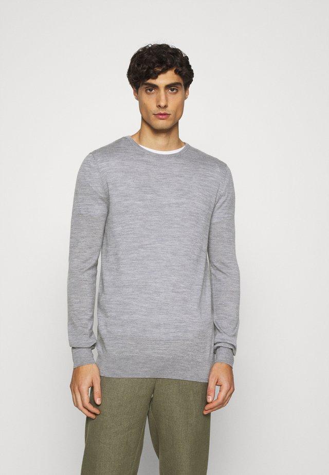 JOHS CREW NECK  - Pullover - grey mel