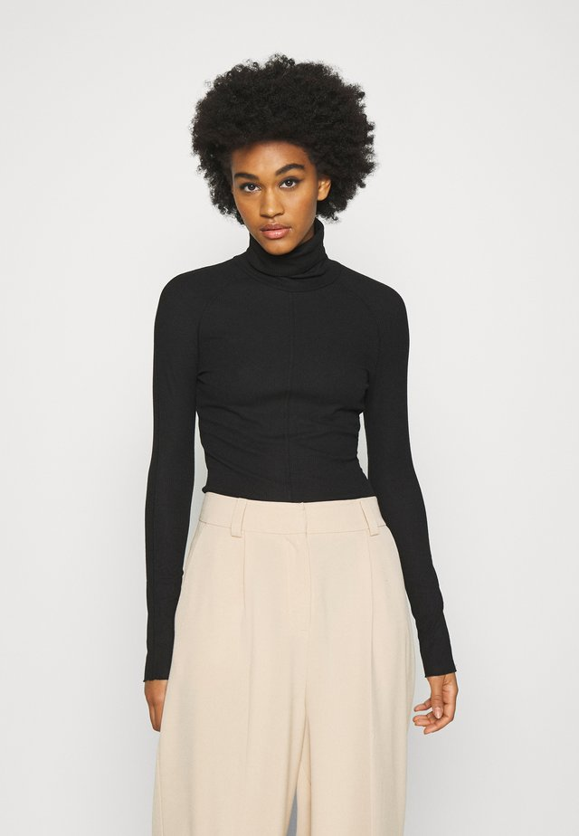 CAROL TURTLENECK - Long sleeved top - black