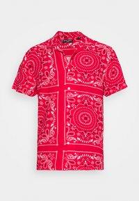 Brave Soul - FENDERB - Camisa - red/optic white/jet black - 4