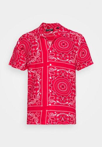 FENDERB - Shirt - red/optic white/jet black