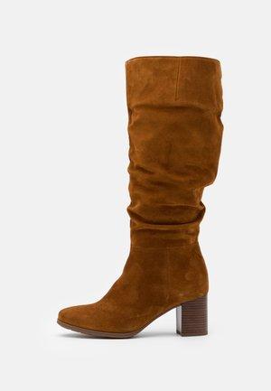 Boots - camel