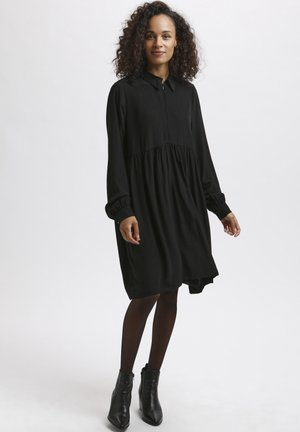 KASELA - Shirt dress - black deep