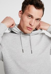 Only & Sons - ONSBASIC HOODIE UNBRUSHED - Hoodie - light grey - 4