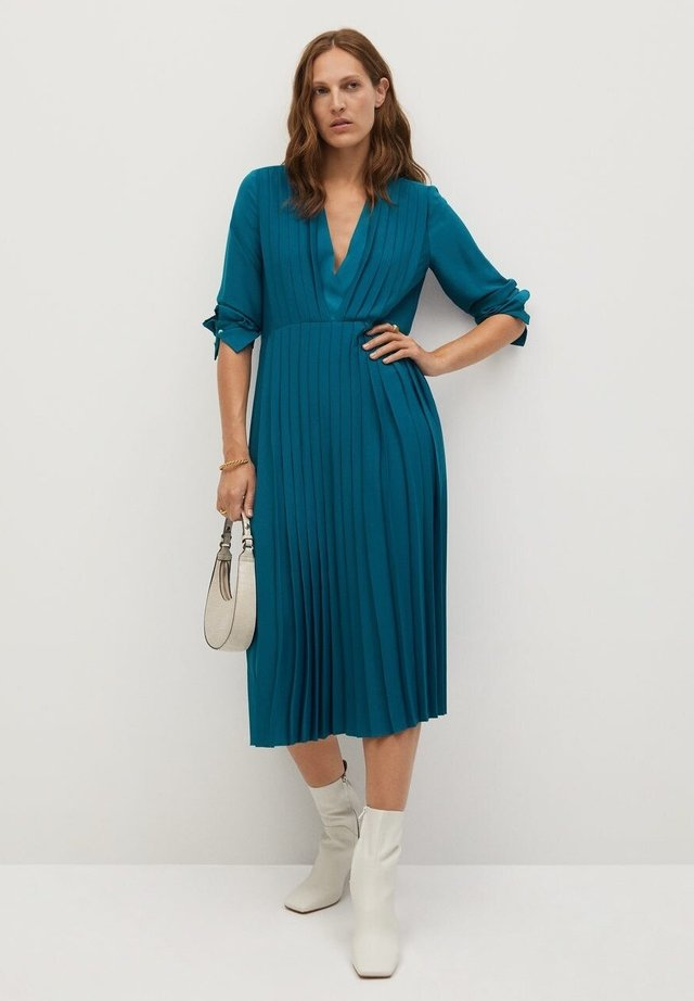 LALI - Day dress - modrá