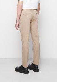 Neil Barrett - TRAVEL FITTED SLIM SUIT - Costume - dark safari - 6