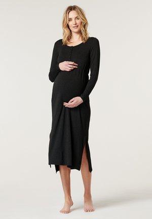 Sukienka z dżerseju - anthracite melange