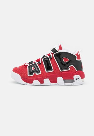 AIR MORE UPTEMPO UNISEX - Matalavartiset tennarit - varsity red/white/black