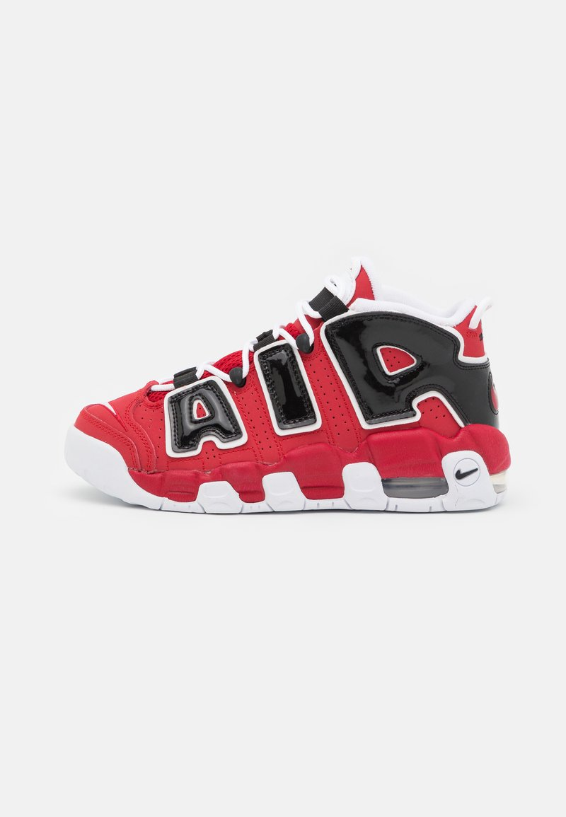 Nike Sportswear - AIR MORE UPTEMPO UNISEX - Trainers - varsity red/white/black