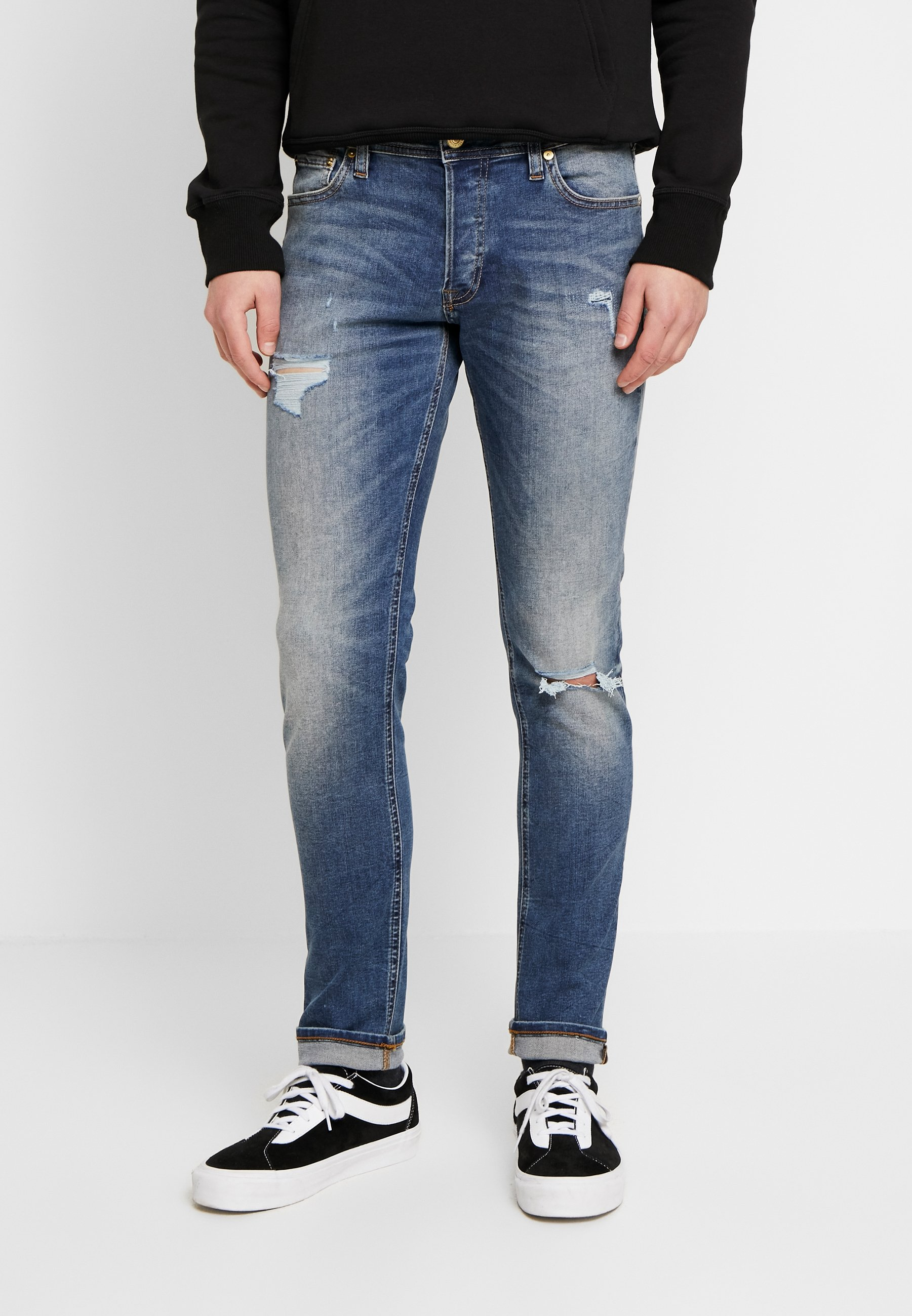Uomo JJIGLENN JJORIGINAL - Jeans slim fit