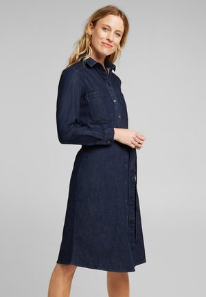Shirt dress - blue dark washed