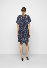 Iro - BAGO DRESS - Denní šaty - black/multicolored - 2