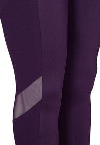 Zizzi - Leggings - Trousers - purple - 6