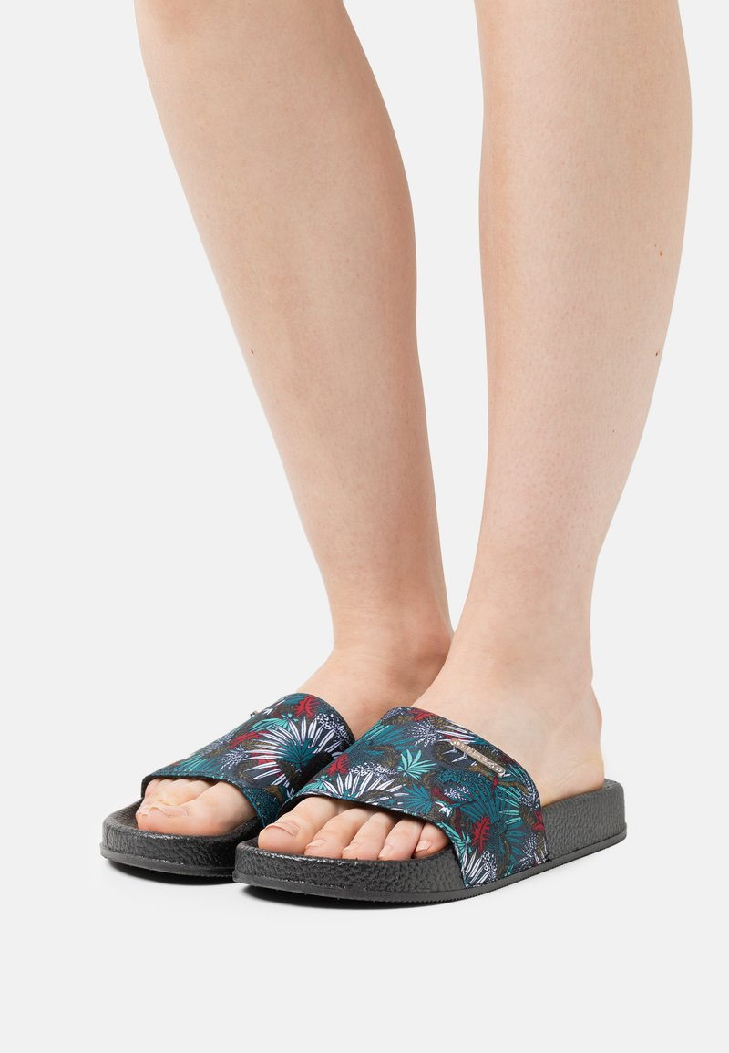 Kaporal - TACOTA - Pantofle - noir
