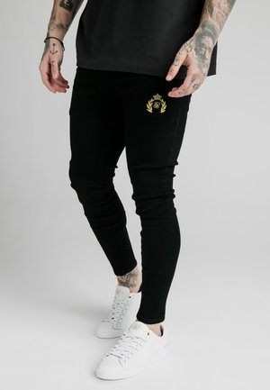 DISTRESSED PRESTIGE SKINNY  - Vaqueros pitillo - black