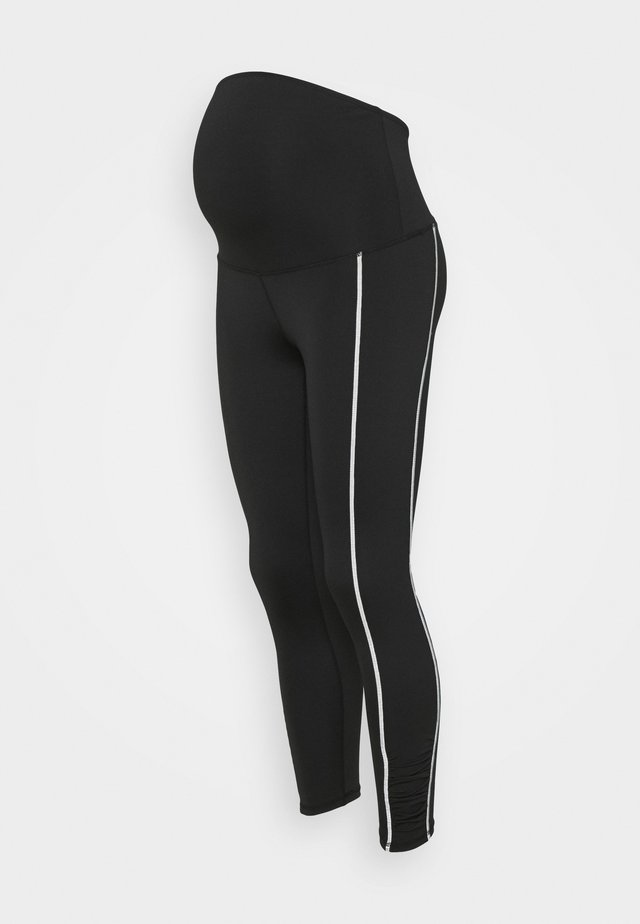 MATERNITY COFFEE LIFESTYLE 7/8  - Legging - black