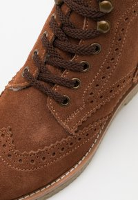 Friboo - Lace-up ankle boots - brown - 5
