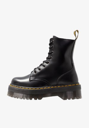 JADON ZIP - Bottines à plateau - black