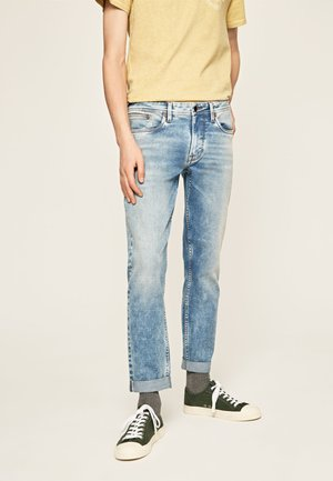 HATCH BLEACH - Straight leg jeans - blue denim