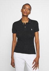 Polo Ralph Lauren - SHORT SLEEVE - Polo shirt - black - 0