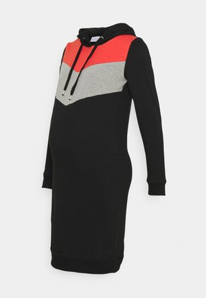 MLNEWESTER DRESS - Vestido informal - black/grey/chili