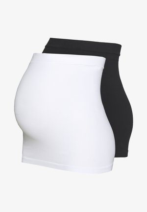 MLCARA BUMPBAND 2 PACK - T-shirt basic - black/bright white