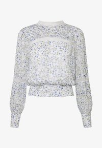 PLEAT DETAIL TOP - Blouse - climbing speckled ditsy