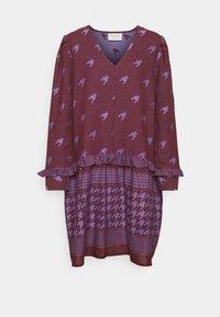 MADISON DRESS - Day dress - lavender silk