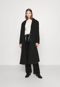 Topshop - JAMIE - Flared Jeans - black - 1