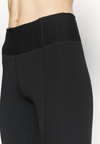 Nike Performance - ONE LUXE CROP - Collant - black/white - 3