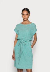 Esprit - DRESS  - Jersey dress - teal green - 0