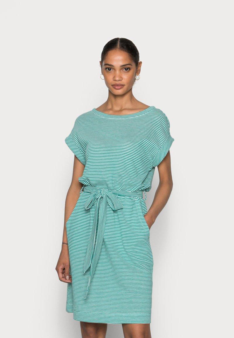 Esprit - DRESS  - Jersey dress - teal green