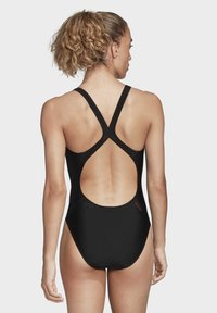 adidas Performance - ATHLY V LOGO SWIMSUIT - Swimsuit - black - 3