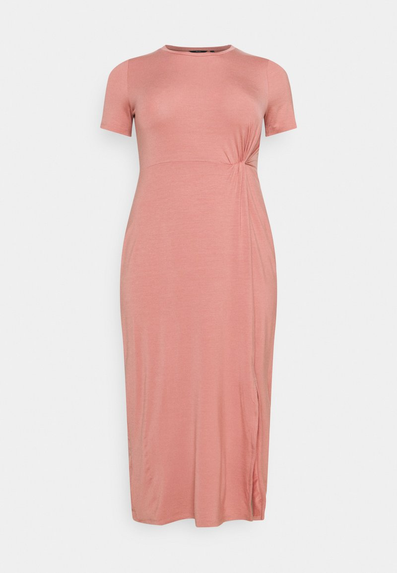 Vero Moda Curve - VMAVA LULU ANCLE DRESS - Maxi dress - old rose
