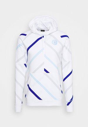 CHELSEA LONDON HOOD - Klubové oblečení - white/cobalt tint