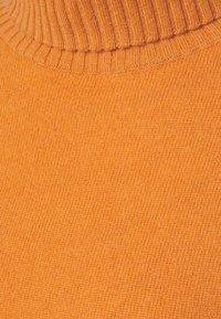 FTC Cashmere - ROLLNECK - Jumper - rust orange - 2