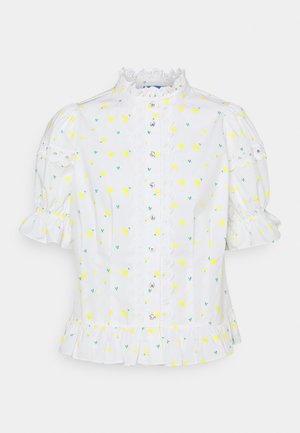 MISCHACRAS - Button-down blouse - buttercup