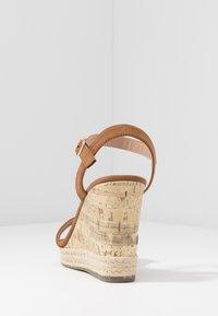 New Look - PERTH - Sandály na vysokém podpatku - tan - 5