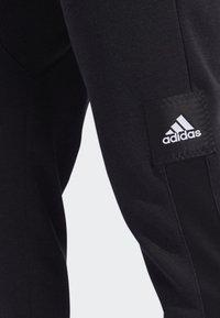 adidas Performance - CROSS-UP 365 TRACKSUIT BOTTOMS - Tracksuit bottoms - black - 6
