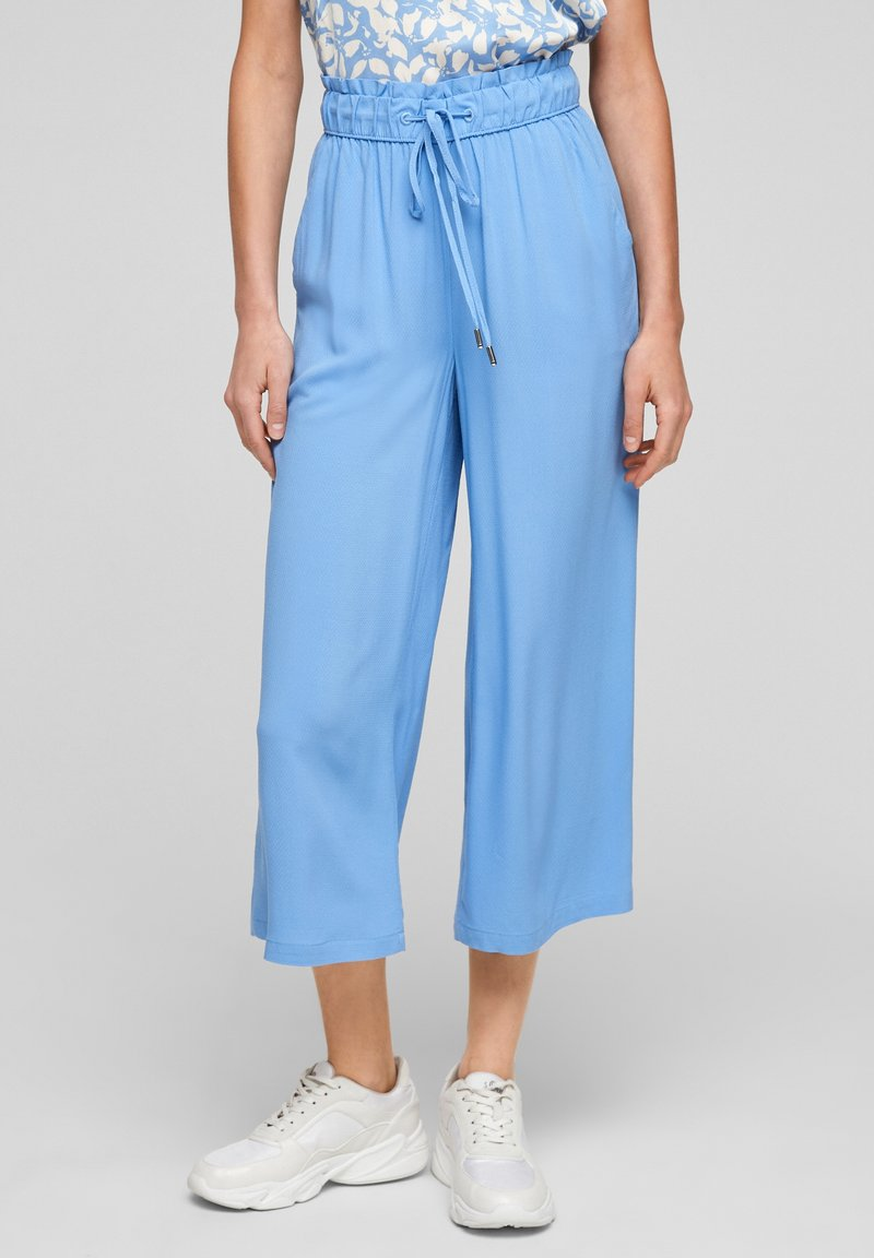 s.Oliver - Trousers - light blue