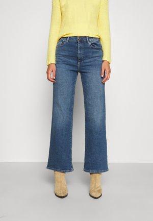 HEPBURN WIDE LEG HIGH RISE VINTAGE - Jeans bootcut - maritime
