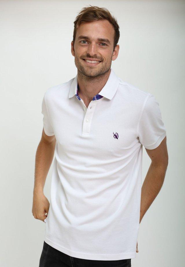 KUGAWANA - Polo shirt - white