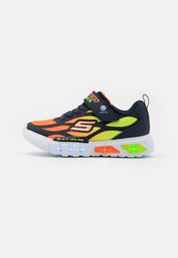 Skechers - FLEX GLOW - Trainers - navy/orange/yellow - 0