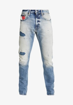 RELAXED TAPERED - Jeans Tapered Fit - clark light blue