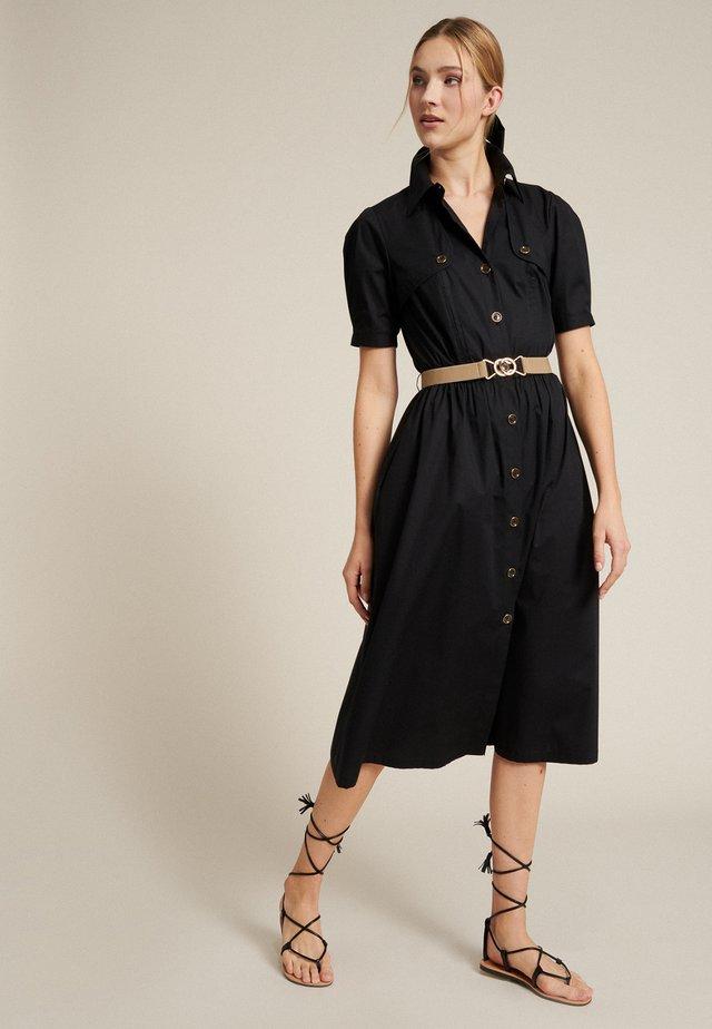 PROVA - Shirt dress - nero