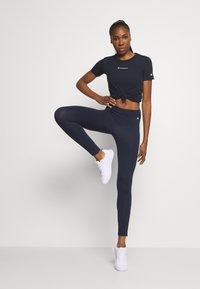 Champion - LEGGINGS LEGACY - Punčochy - dark blue - 1