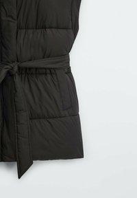 Massimo Dutti - STEP - Waistcoat - black - 5