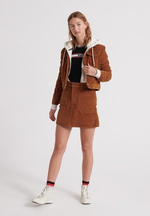 Summer jacket - ocher