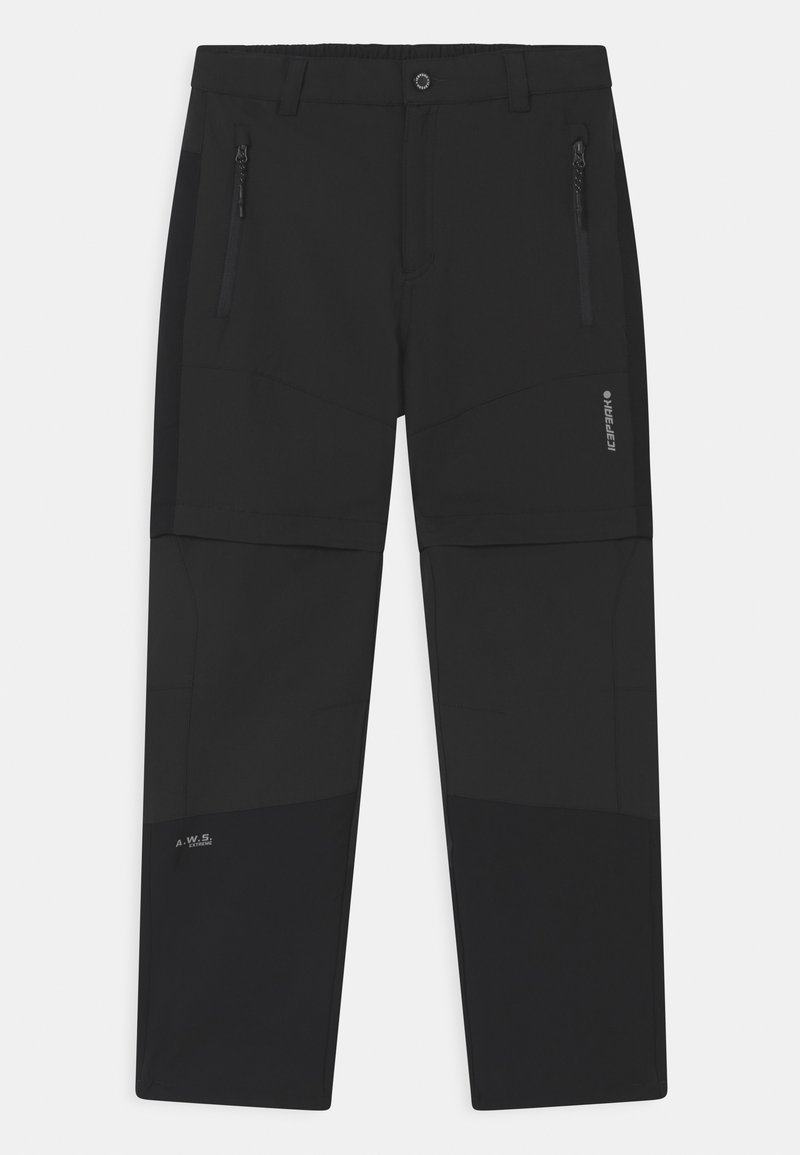 Icepeak - KAYES UNISEX - Outdoor trousers - anthracite