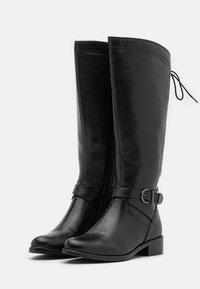 San Marina - SABRAVI - Vysoká obuv - noir - 2